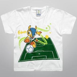5d7876dc37edf Camiseta FIFA Mascote Infantil