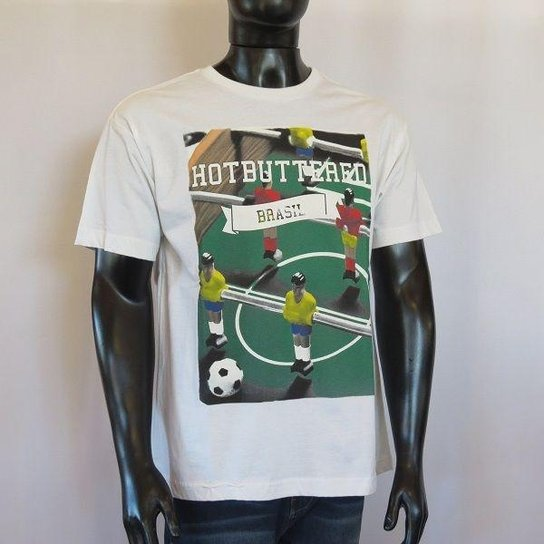 Camiseta Básica Hot Buttered - Compre Agora   Netshoes b3ffebe08a