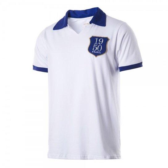 Camisa Polo Retrô Gol Seleção Brasil 1950 - Compre Agora  de798c2963d
