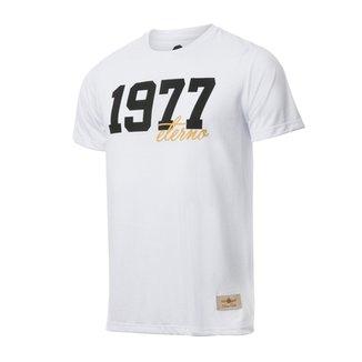 44bf5ba067e26 Camisa Retrô Gol Basílio 1977 Branca Torcedor