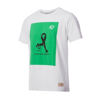 988ac62e48329 Camisa Casual Retrô Gol Torcedor Chapecoense Branca