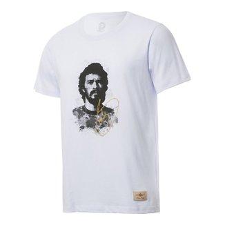 87bfc7c434 Camisa Retrô Gol Sócrates Ex - Corinthians Rosto Branca Torcedor