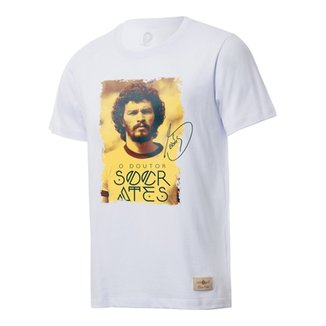 Camisa Corinthians Casual Retrô Gol Sócrates Torcedor e956e2fc42ef7