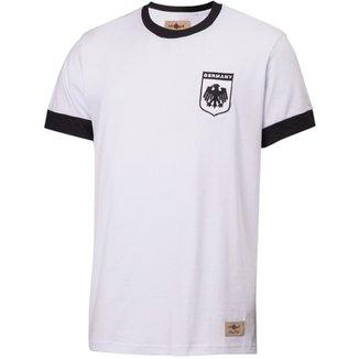 Camisa Retrô Gol Réplica Seleção Alemanha 1974 Torcedor 375316e789ed0