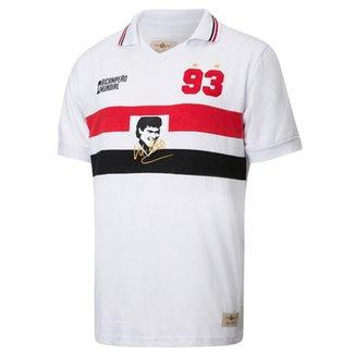 1928776156cab Camisa Retrô Gol Réplica Muller Ex - São Paulo 1993