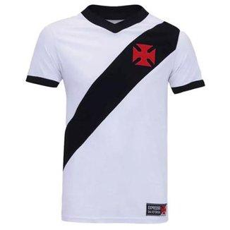 Camisa Retrô Vasco da Gama Réplica Expresso da Vitória Masculina 7f6f171db010d
