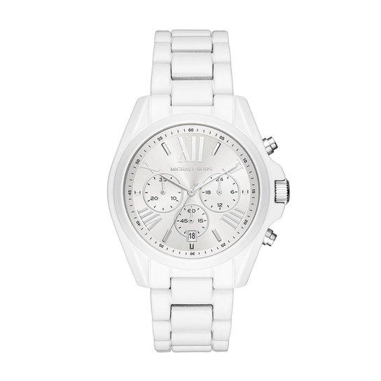 eafe0c4b9030e Relógio Michael Kors Feminino Bradshaw - MK6585 1BN MK6585 1BN - Branco