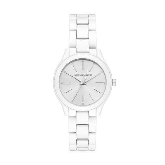 Relógio Michael Kors Feminino Slim Runway - MK3908 1KN MK3908 1KN - Branco 64dc7abb3c