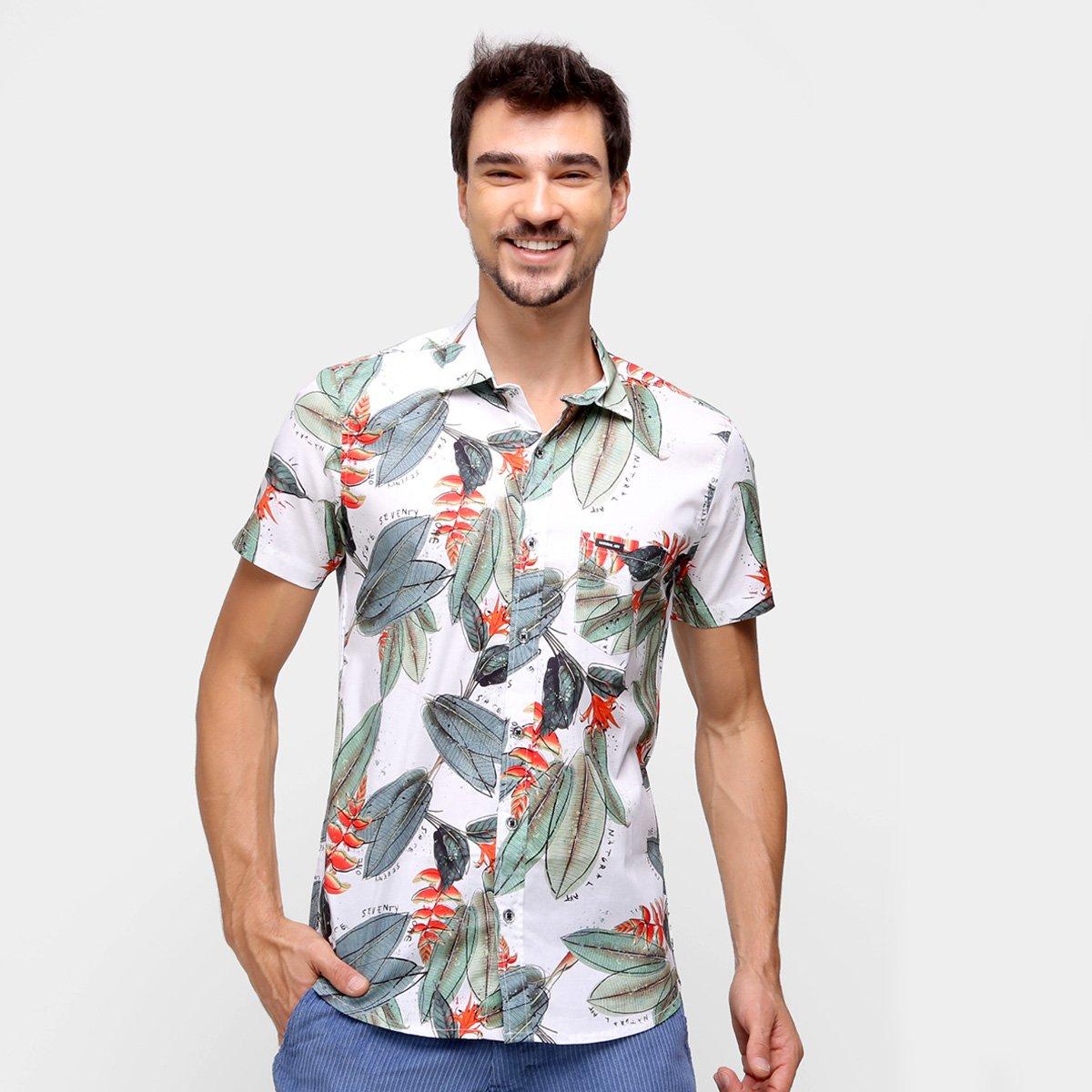 Camisa Natural Art Veraneio Masculina