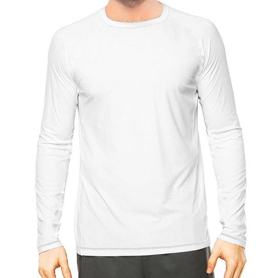 fa3c1b36fb Camisa Térmica Camisa da Latinha com Proteção Solar UV50+ Masculina - Branco