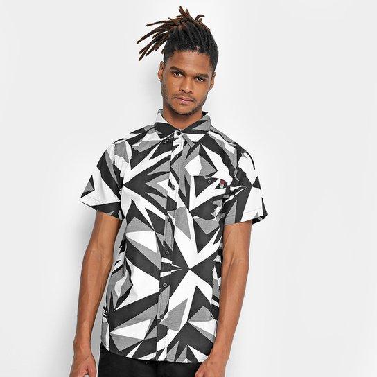 a993bdfbb Camisa Ecko Manga Curta Estampada Masculina - Branco | Netshoes
