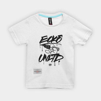 Camiseta Infantil Ecko Estampada Manga Curta Masculina