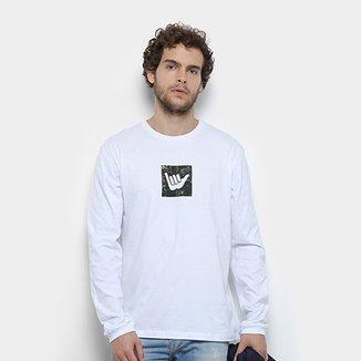 977a25d394 Camiseta Hang Loose Silk Logarmy Manga Longa Masculina