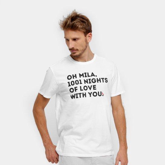 4e62dd0e87 Camiseta Reserva Estampa Oh Mila Masculina - Compre Agora