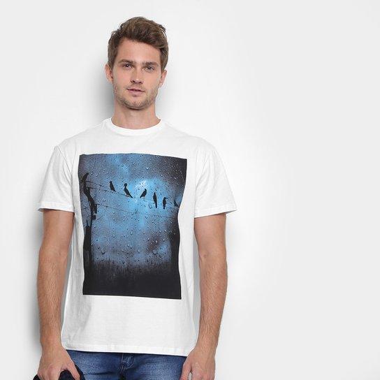 9f0bbcdff Camiseta Reserva com Estampa Pássaros Masculina - Compre Agora ...