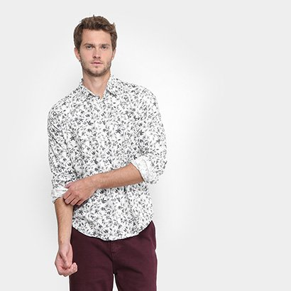 Camisa Reserva Floral Masculina