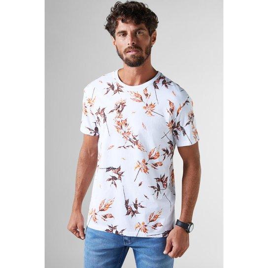6cb19474e Camiseta Estampada Pica Outono Reserva Masculina - Compre Agora ...