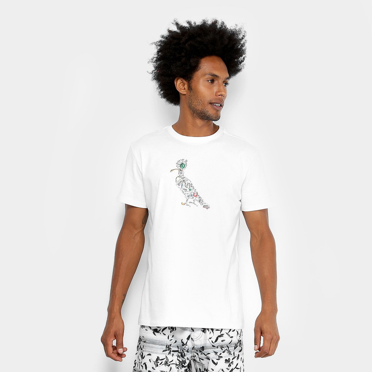 Camiseta Reserva Pica-pau Ano Novo Masculina. undefined e45a5f2634b02