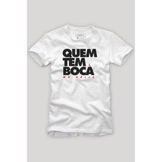 a6cdc7edd4 Camiseta Reserva Carnaval Quem Tem Boca Masculina