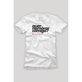 Camiseta Reserva Carnaval Quer Namorar Comigo Masculina 4a34f641089