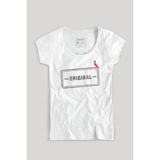 Camiseta Reserva Carimbo Original Feminino 8601629539
