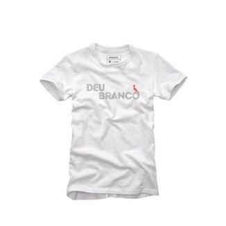 Camiseta Reserva Deu Branco Masculina 7ce2ef8fae181