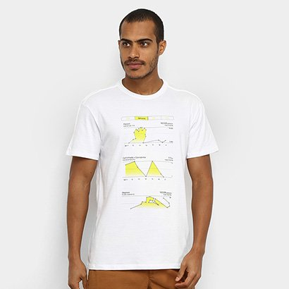 Camiseta Reserva Gráfico Masculina