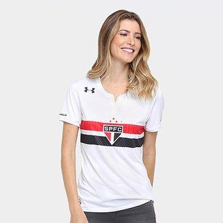 a5aef5e02770f Camisa São Paulo I 17 18 s nº Torcedor Under Armour Feminina