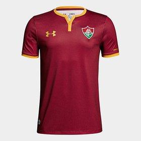 LANÇAMENTO. (58). Camisa Fluminense III 17 18 s nº - Torcedor Under Armour  Masculina 0744e3e69274f