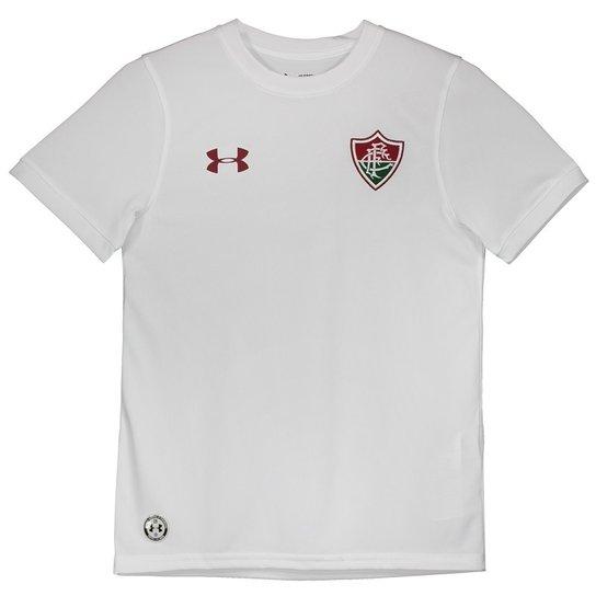 Camisa Under Armour Fluminense Infantil II 2017 - Branco - Compre ... 9dd1979051e31