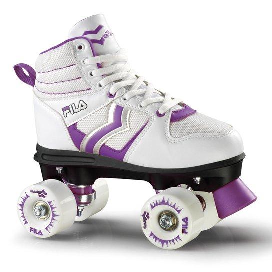 0b7f3e74b24 Patins Quad Fila Skates Verve W  S Branco  - Branco - Compre Agora ...