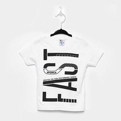 Camiseta Infantil Pulla Bulla Fast Masculina