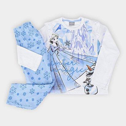Pijama Infantil Evanilda Longo Frozen Feminino