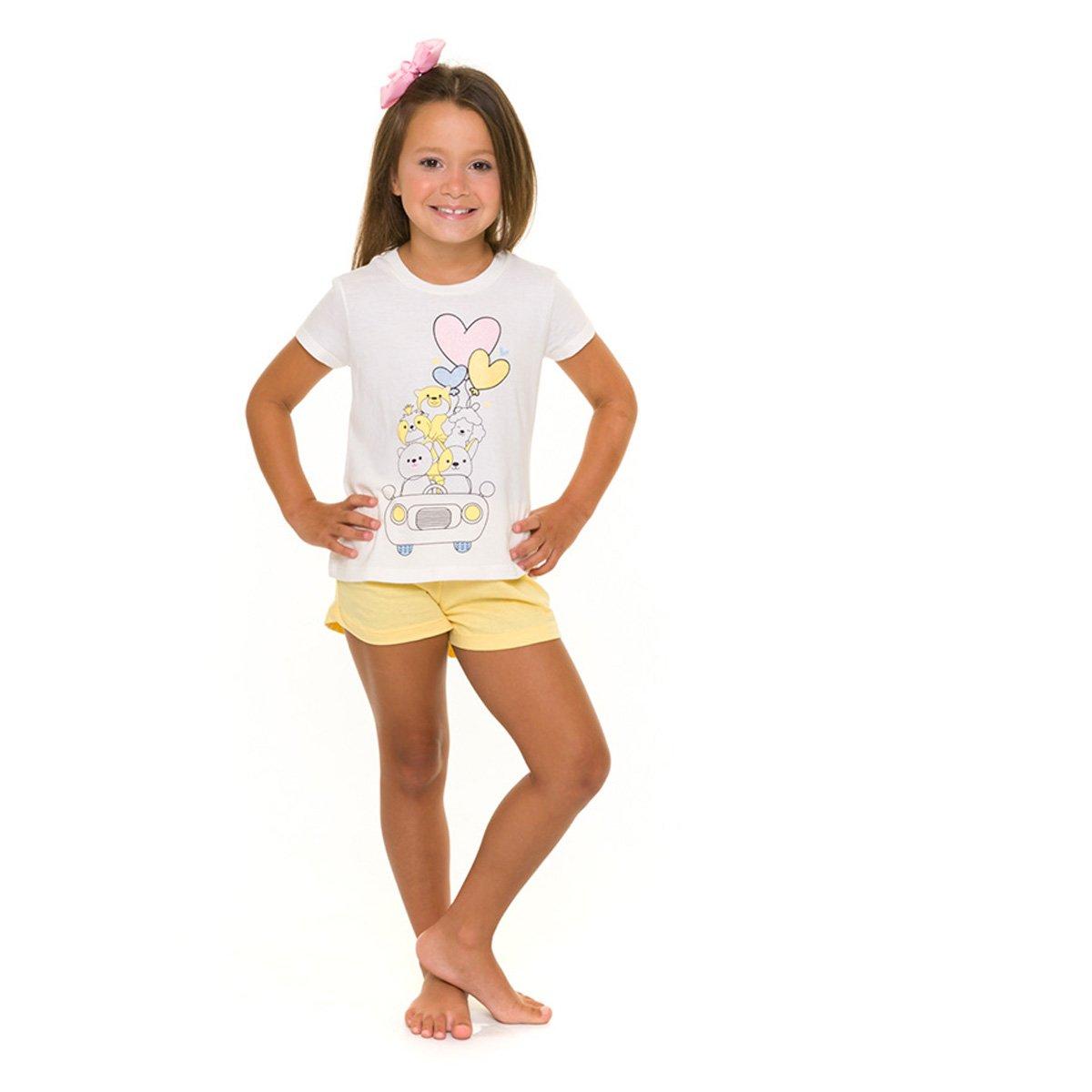 Pijama Infantil Evanilda So Cute Feminino