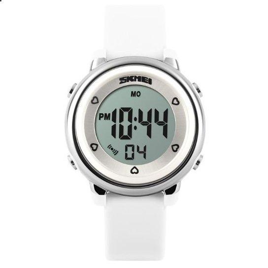 ba7add4f5a6 Relógio Skmei Digital 1100 - Branco - Compre Agora
