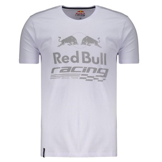 2c85fa7aa8776 Camiseta Red Bull Racing Det Masculina - Branco - Compre Agora ...