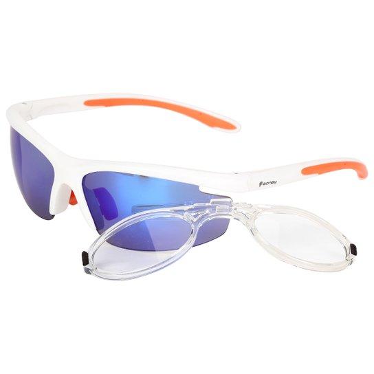 Óculos Gonew Fitter com Clip para Grau Removível - Polarizado - Branco 29982e9a07