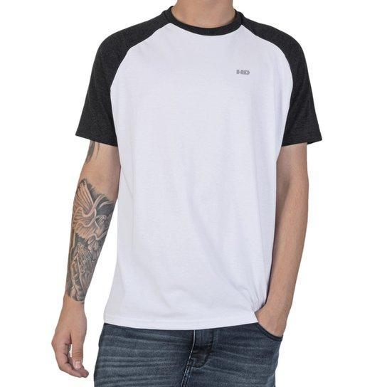 Camiseta HD Simple Raglan Masculina - Compre Agora   Netshoes b4e8a0b4b3