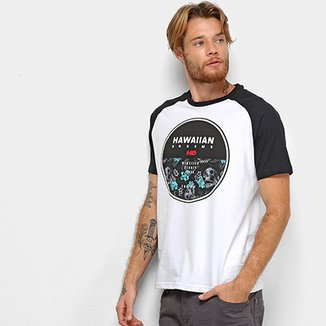 Camiseta HD Raglan Darkest Masculina