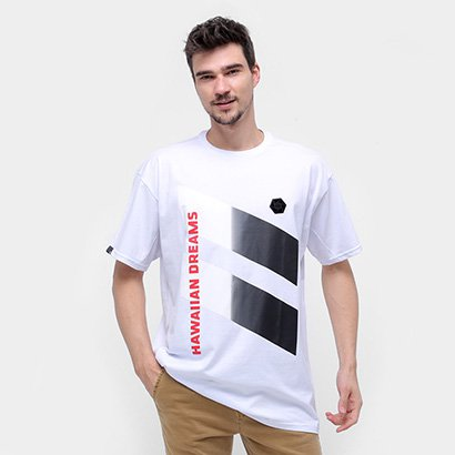 Camiseta Hd Degradê Oversized Masculina