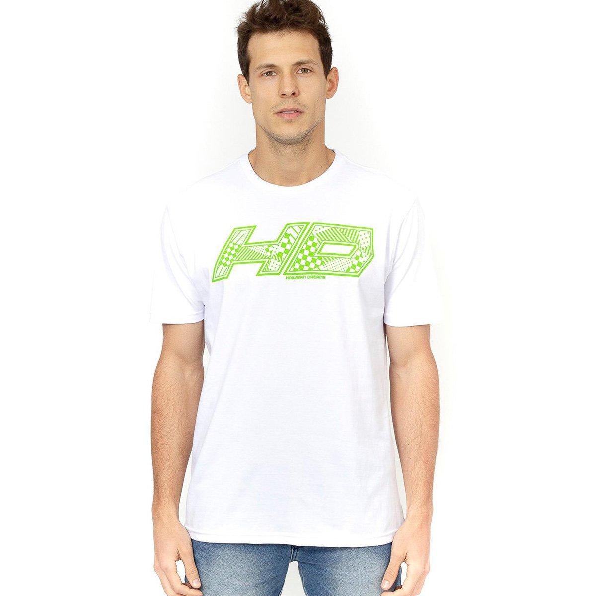 Camisa HD Logo Quadriculado Masculina