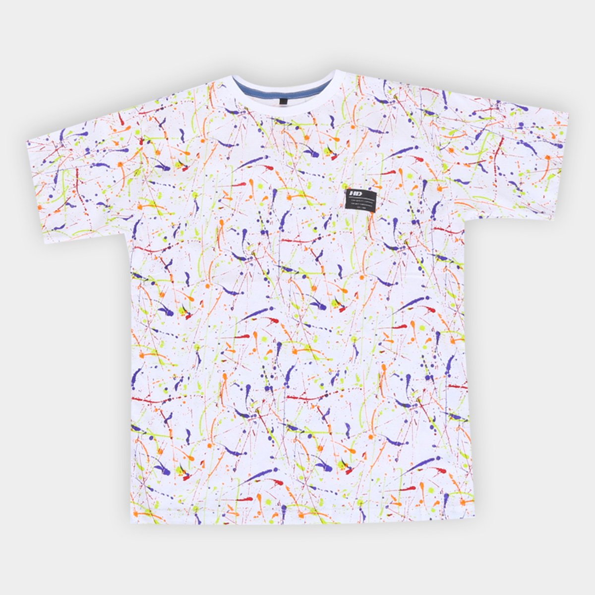Camiseta Juvenil HD Estampada Masculina