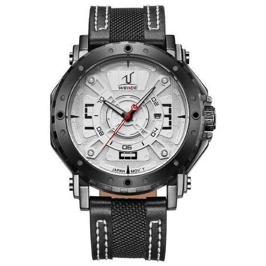 4d4b95d046e Relógio Weide Analógico UV-1601 - Branco - Compre Agora