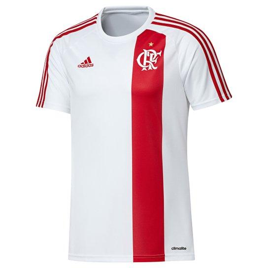 433b71c3a0 Camisa Flamengo II 17 18 Réplica Adidas Masculina - Branco - Compre ...