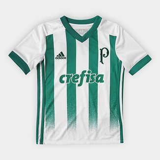 2b0a306430ae7 Camisa Palmeiras Infantil II 17 18 Torcedor Adidas