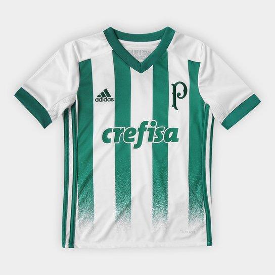 96fe4b2bc7 Camisa Palmeiras Infantil II 17 18 Torcedor Adidas - Compre Agora ...
