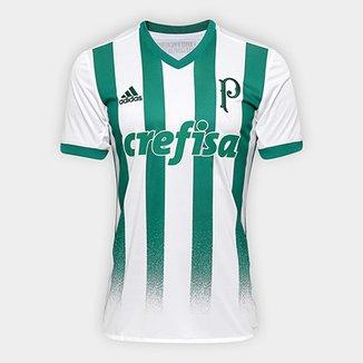 2534f74b8a526 Camisa Palmeiras II 17 18 s nº Torcedor Adidas Masculina