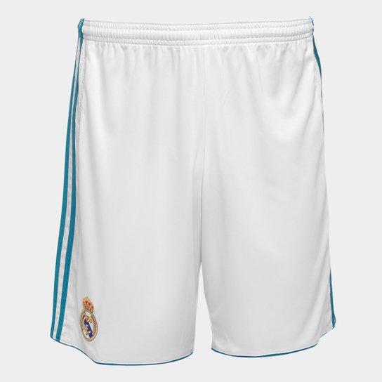 Calção Real Madrid 17 18 Adidas Masculino - Compre Agora  498b545673063