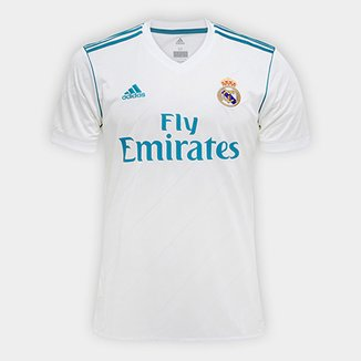 Camisa Real Madrid Home 17 18 - Torcedor Adidas Masculina effe616df3320
