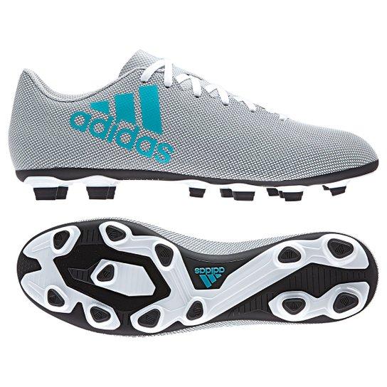 ... Chuteira Campo Adidas X 17.4 FXG Masculina - Branco - Compre Agora . 80d1256f03437